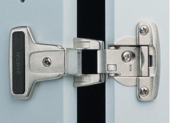 Concealed hinge, Aximat SM concealed hinge, gap 8 mm, for screw fixing