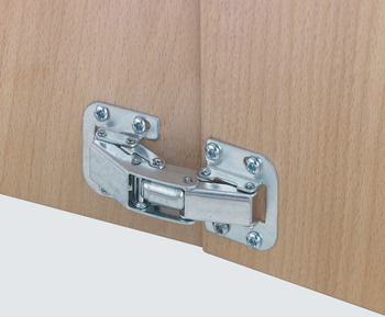 Concealed Hinge, Easy Mount, 90° Opening Angle, Self Closing
