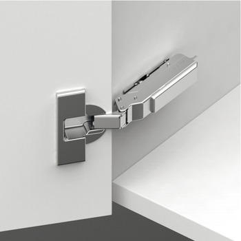 Concealed Hinge, Grass TIOMOS, 110º Opening Angle, Full Plus Overlay Mounting