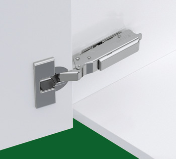 Concealed Hinge, Grass TIOMOS, 120° Opening Angle, Full Plus Overlay