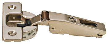 Concealed Hinge, Salice 100 Series, 105° Opening Angle, Silentia, Nickel Plated