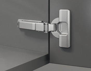 Concealed Hinge, Salice 200 Series, 94° Opening Angle, Silentia+, Nickel Plated
