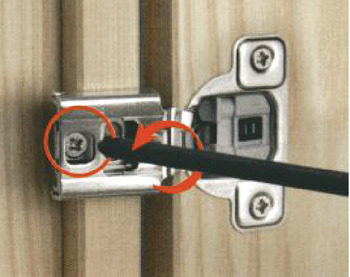 Concealed Hinge, Salice Excenthree 3-Cam, 106° Opening Angle, Soft Close, 1 1/4 Overlay