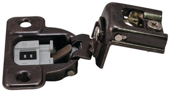 Concealed Hinge, Salice Excentra 2-Cam, 106° Opening Angle, Soft Close, 1 1/4 Overlay