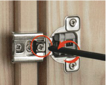 Concealed Hinge, Salice Excentra 2-Cam, 106° Opening Angle, Soft Close, 1/2 Overlay