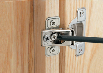 Concealed Hinge, Salice Face Frame 3 Cam, 106° Opening Angle, Self Close