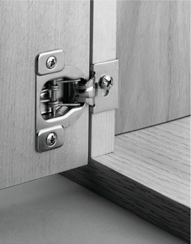 Concealed Hinge, Short Arm, Face Frame, 105° Opening Angle