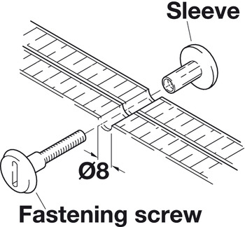 Connecting Screw, M6
