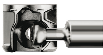 Connector Housing, Häfele Minifix 12, zinc alloy, without rim