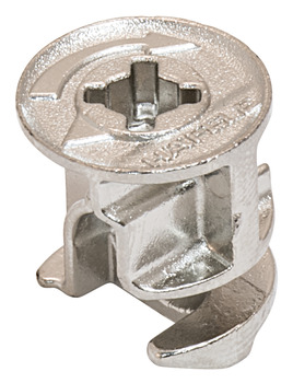Connector Housing, Häfele Minifix<sup>®</sup> 15, Zinc alloy, Without rim