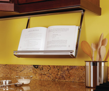 Cookbook Holder, Backsplash Railing System
