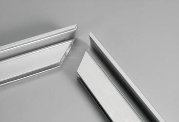 Corner Connector, for Aluminum Door Frame Profiles, 4 Screws