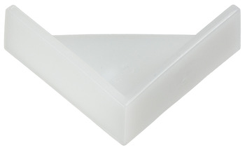 Corner Protector, with Floor-Guide Bump
