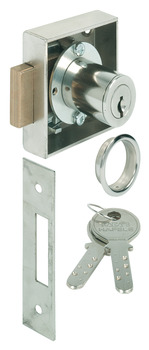 Deadbolt Lock, Ø22 mm KABA Cylinder, 8 Pin