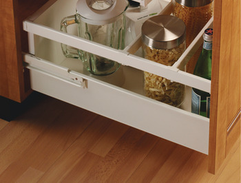 Divider Rail, for Grass Zargen Single-Wall Metal Drawer System