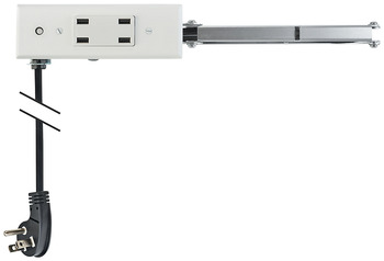 Docking Drawer, 18 Slim USB, for ≤ 18 Cabinet Depths; with 4 x USB Ports