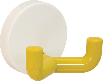 Double Coat Hook, HEWI, Polyamide, 50 x 43.5 mm