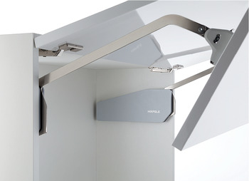 Double Door Lift-Up Fitting, Free Fold