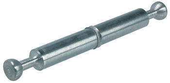 Double-Ended Bolt, Minifix® System, with Ridge, 7 mm Bolt Hole