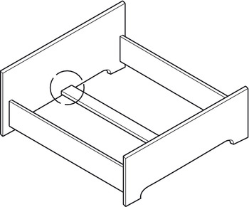 Double Fitting, for Beds with Central Tie-Bar