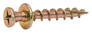 Double Headed Screw, #8, Phillips Head, Zinc