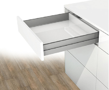 Double-Wall Drawer System Frame, Drawer side height 90 mm, Nova Pro Scala