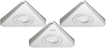 Down Light, Triangular, 3-Piece Set, Loox LED 3003, 24 V