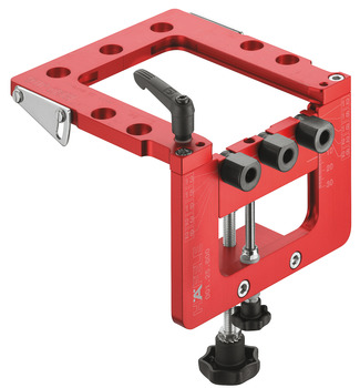 Drilling Jig, Basic, Red