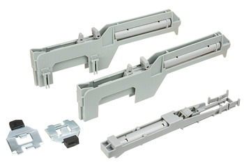 Easy Close Mechanism, for Top/Bottom Mounted Pull-Out Cabinet Slide