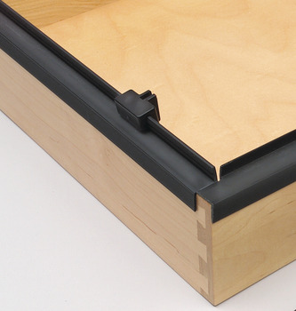 Easy Slide Rail, for Hanging File System, 2.5 m
