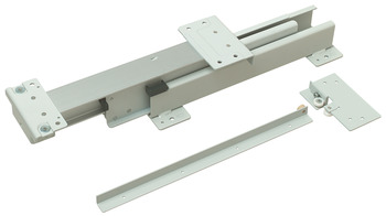 EKU Forte 170/340 Top/Bottom Mounted Cabinet Slide, Partial Extension, 374 lbs Weight Capacity