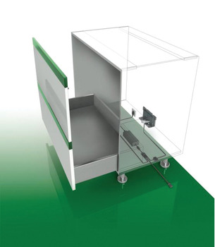 Electronic Waste Bin Auto Open Kit, for Kesseböhmer Pull-Out Units