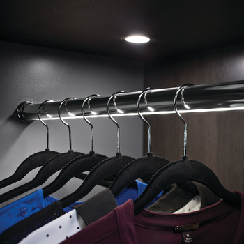 Elite Lighted Wardrobe Tube Kit, LED 2037