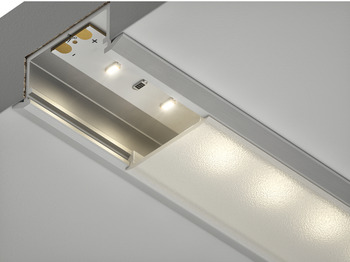 End Cap, for Recessed Installation Aluminum Profile