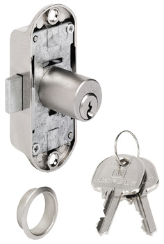 Espagnolette Lock, with Pin Tumbler Cylinder, Standard Profile