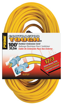 Extension Cord, Contractor Grade with Primelight® Indicator Light