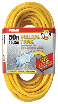 Extension Cord, Heavy Duty with Primelight® Indicator Light