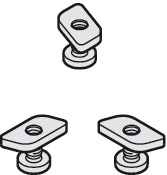 Fastening Bolts and Nuts, For Angle Profile, Junior 40