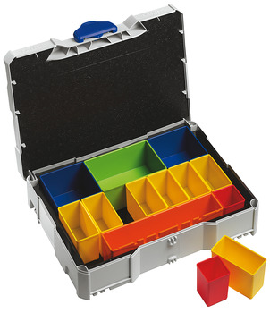 Fitting Case, Systainer<sup>® </sup>T-Loc, Box, with removeable compartments