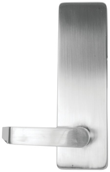 Flat Top Escutcheon, Blank Escutcheon Lever