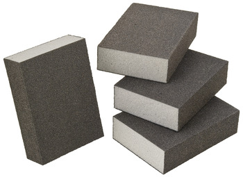 Foam Sanding Sponge, Four-Sided