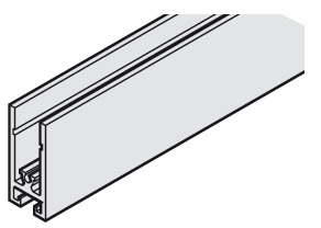 Frame Profile, Horizontal, 26 x 60 mm (1 x 2 3/8)