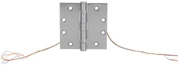 Full Mortise 5-Knuckle Hinge, Electrified Standard Weight