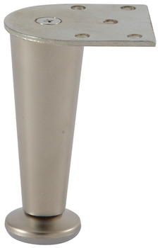 Furniture Foot, Aluminum, 100 mm (4)