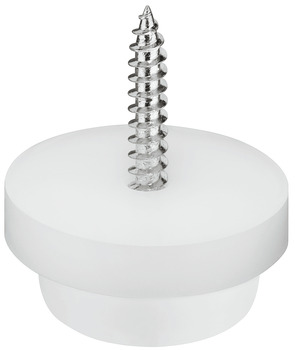 Furniture Glide, height 10 mm, Screw-in