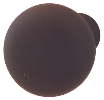 Furniture Knob, Dark Oil-Rubbed Bronze, Steel