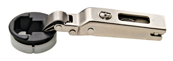 Glass Door Concealed Hinge, Salice, 94° Opening Angle, Self Closing, Full Overlay
