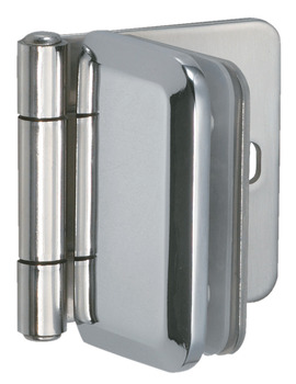 Glass Door Hinge, 304 Stainless Steel, for Glass 4 - 6 mm