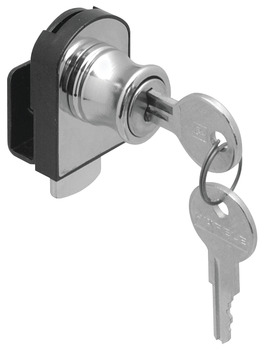 Glass Door Lock, Non-Bore, Vertical Installation