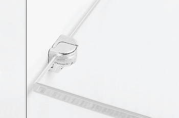 Glass Shelf Support, for Glass Thickness of 8/10/12 mm, Screw Mount